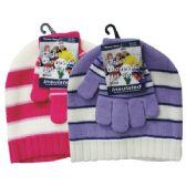 36 of Winter Set Hat & Glove Girls
