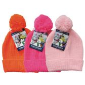 24 of Winter Kid's Pom Pom Hat Knit