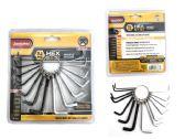 72 of 2pc Hex Key Set