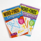 36 of Puzzle Book Companion Wordfind/ Crossword In 36 Pc Cntr Display 128 Pg