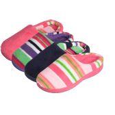48 of Girls' 2-tone slip on indoor slippers