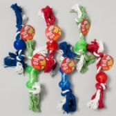 84 of Dog Toy Double Notted Rope/ Rubber Chews