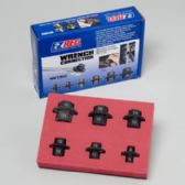 50 of 6 Piece Metric Hex Wrench Connectors 8 Mm - 19 Mm