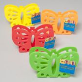 48 of Napkin Holder Butterfly Shape 4 Summer Colors Die Cut Gov Summer Hang Tag