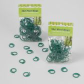 48 of 30/50 Count Garden & Plant Plastic Rings