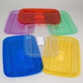96 of Serving Tray Rectangular 6 Colors In White Pdq