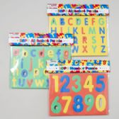 48 of Foam Puzzle Alphabet & Numbers 3ast Styles
