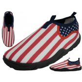 36 of Women's US Flag Printed Water Shoes