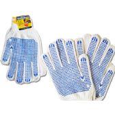 144 of Working Gloves Men 2pairs Blue Clr