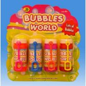 108 of 4pcs Bubble fun set in blister card