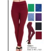 24 of Womens Fashion Pants Assorted Colors