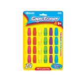 72 of BAZIC Neon Eraser Top (24/Pack)