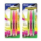 48 of BAZIC Erasable Highlighter (3/Pack)