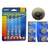 96 of Batteries Button 40pc/Set
