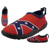 36 of Men's Southern Flag Aqua Socks