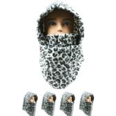 36 of Unisex Adult Winter Ninja Winter Hat Leopard Print