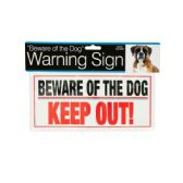 72 of Dog Warning Sign