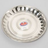 48 of 10 Inch Wide Stainless Steel Round Plate