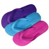 36 of Kids Flip Flops In Assorted Colors And Sizes