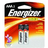 36 of ENERGIZER AAA-2 E92B2 Alkaline card of 2
