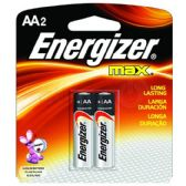 36 of ENERGIZER AA-2 E91B2 Alkaline card of 2