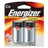 24 of ENERGIZER C-2 E93B2 Alkaline card of 2