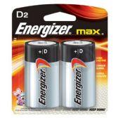 24 of ENERGIZER D-2 E95B2 Alkaline card of 2