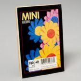 96 of 3 Colours Asst Plain Pad 4x6 Inch 180 Ct