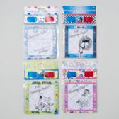 144 of 3-d Glasses With Drawing Pad 20 Sheets -6 Assorted