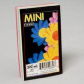 96 of 5 Colour Asstd 3c5 Inch Plain Pad Glued 300 Ct