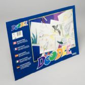 36 of Doodle Pads 18x12 Inch 36 Ct White