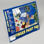 96 of Finger Paint Pad 14x11 Inch 24ct