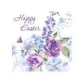 144 of Happy Easter Lilacs Lunch Napkins