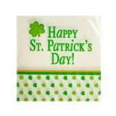 144 of Happy St. Patrick's Day Beverage Napkins