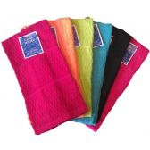 72 of Terry Solid Dyed Popcorn Kitchen Towel Assts
