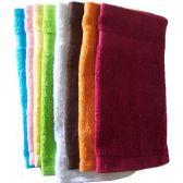 288 of 12x12 Heavy Solid Wash Cloth assts 1.25 lb/dz
