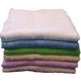72 of 22x44 Solid Terry Bath Towel 6 lb Assts