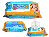 48 of Baby Wipes With Rectangle Flip Top Lid