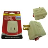 96 of Outlet Adapter With Switch ETL UL