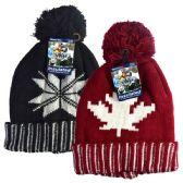 12 of Winter POM POM HD hat Leaf & Snow