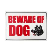 144 of Sign W/Beware Of Dog 20*30cm