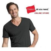 24 of HANES 3 PACK MEN'S COLOR V-NECK T-SHIRTS SIZE SMALL