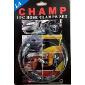 96 of 4pcs large hose clamp set, 4 different size in a set.