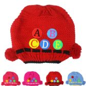 72 of KID WINTER HAT WITH ABC ASSORTED
