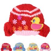 72 of KID WINTER HAT WITH DUCK ASSORTED