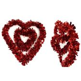 96 of Heart Garland 2 Layer Packing