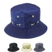 24 of Unisex Bucket Hat Assorted Colors