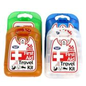 96 of 36 COUNT FIRST AID KIT CLEANING PACKAGE 4 ASSORTED BAND COVERS