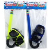 36 of SNORKEL AND GOGGLE SET IN POLY BAG