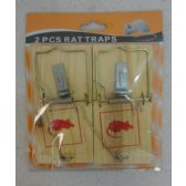 24 of 2pk Wooden Rat Traps